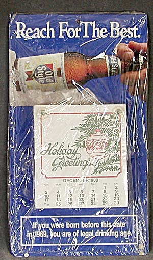 Old Style Beer Calendar (Image1)