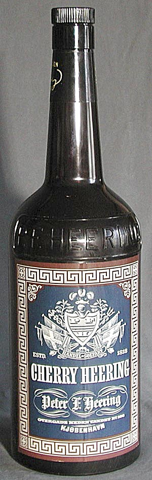 "Vintage 22"" Tall Cherry Herring Advertising Bottle (Image1)"