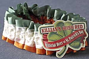 Vintage Killian's Irish Red Beer Garter (Image1)