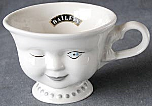 Bailey's Irish Cream Winking Lady Coffee Cup