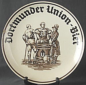 Vintage Dortmunder Union Bier Charger Plate (Image1)