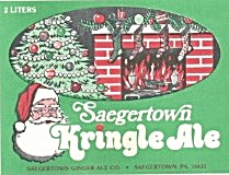 Vintage Kringle Ale Label