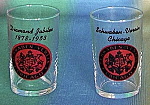 Vintage 4 Bar Glasses From Chicago (Image1)