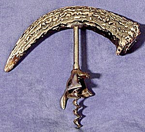 Vintage Stag Handle Cork Screw (Image1)