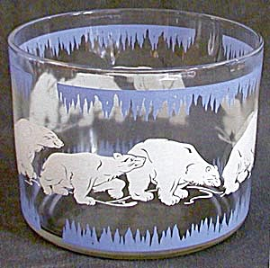 Vintage Hazel Atlas Polar Bear Ice Bucket (Image1)