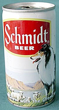Schmidt Beer Can Collie & Sheep (Image1)