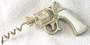 Vintage Pistol Corkscrew (Image1)