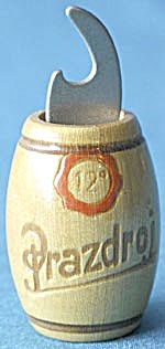 Vintage Prazdroj Wood Bottle Opener