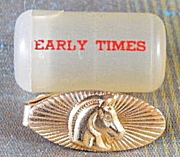 Vintage Earlt Times Whiskey Tie Tack