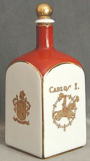 Vintage China Carlos I Decanter (Image1)