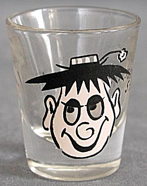 Vintage Pair of Roving Eye Shot Glasses (Image1)