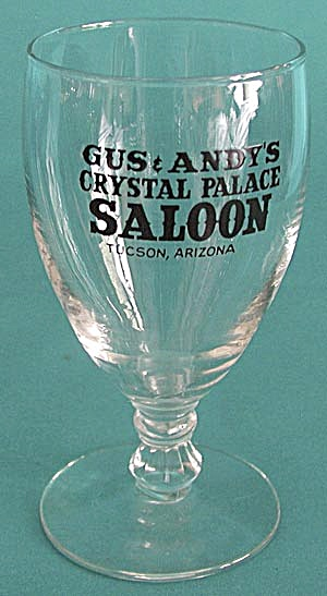 Vintage Advertising Beer Glass (Image1)