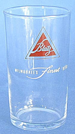 Vintage Blatz Beer Glass