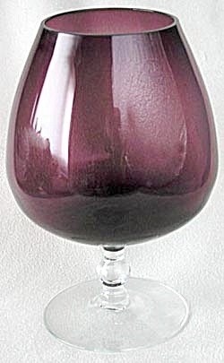 Amethyst Large Brandy Snifter (Image1)