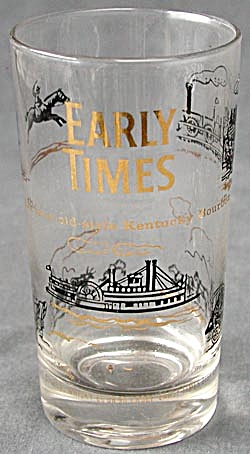 Early Times Kentucky Bourbon Glasses