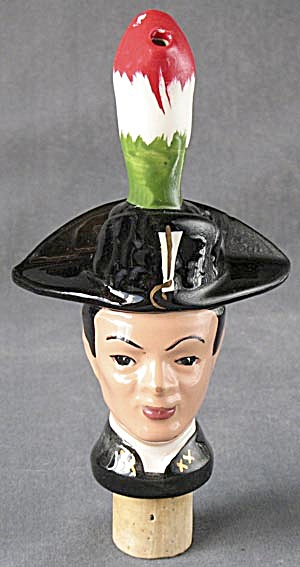 Vintage Galliano Soldier Bottle Head