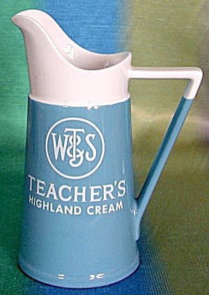W T & S Teachers Highland Cream Pitcher