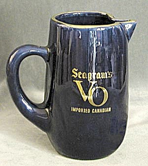 Vintage Seagrams VO Canadian Bar Pitcher (Image1)