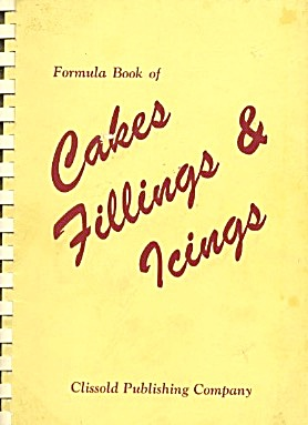 Formula Book Of Cakes Fillings & Icings
