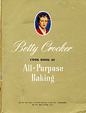 Betty Crocker Cookbook All-purpose Baking