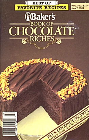 Baker's Book Of Chocolate Riches (Image1)