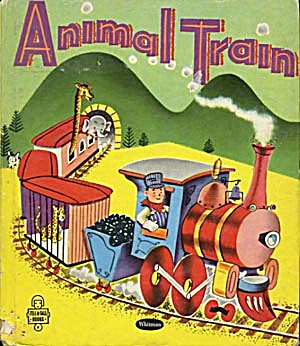 Vintage Animal Train Tell-A-Tale Book (Image1)
