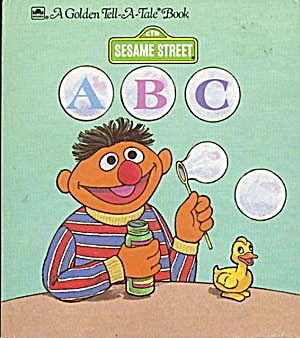 Vintage Sesame Street A B C Tell-A-Tale Book (Image1)