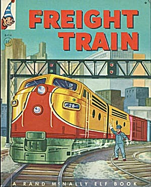 Vintage Freight Train Elf Book (Image1)