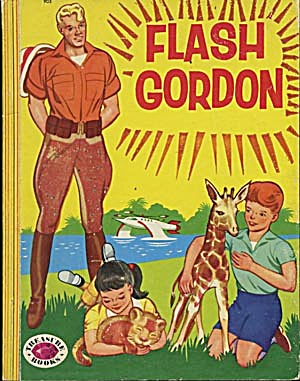 Vintage Flash Gordon Treasure Book (Image1)