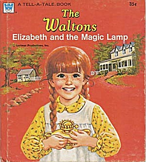 Vintage The Waltons Elizabeth & the Magic Lamp (Image1)