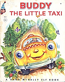 Vintage Buddy The Little Taxi