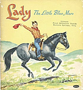 Vintage Lady The Little Blue Mare