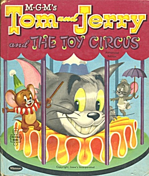 Tom And Jerry And The Toy Circus Book