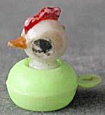 Vintage Plastic Bobble Chick Charm (Image1)