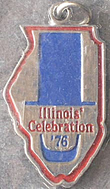 Vintage Illinois Celebration '76 Charm (Image1)