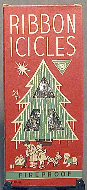Vintage Ribbon Icicles in Original Box (Image1)