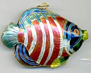 Enamel Fish Christmas Ornament (Image1)