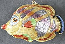 Enamel Fish Christmas Ornament (Image1)