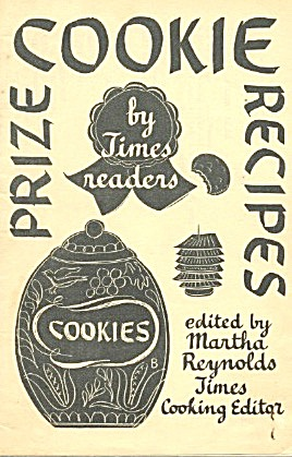 Prize Cookie Recipes By Times Readers