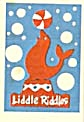 Cracker Jack Toy Prize: Liddle Riddles Seal