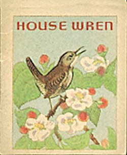 Cracker Jack Toy Prize:Bird Books:Catbird & House Wren (Image1)