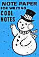 Cracker Jack Toy Prize: Note Paper Cool Notes (Image1)