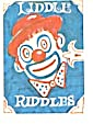 cracker Jack Toy Prize: Liddle Riddles Clown (Image1)