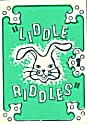 Cracker Jack Toy Prize: Liddle Riddles Bunny