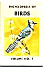 Cracker Jack Toy Prize: Encyclopedia Of Birds