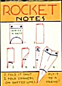 Cracker Jack Toy Prize: Rocket Notes