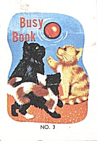 Cracker Jack Toy Prize: Busy Book #3