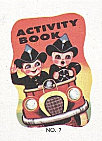 Cracker Jack Toy Prize: Activity Book #7