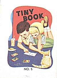 Cracker Jack Toy Prize: Tiny Book