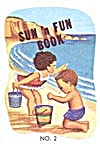Cracker Jack Toy Prize: Sun N Fun Book # 2 (Image1)